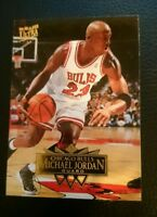 1995 96 FLEER ULTRA #25 MICHAEL JORDAN CHICAGO BULLS HOF MINT