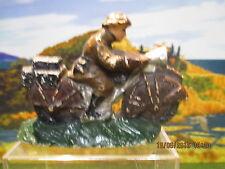 Rare figurine en composition magnifique moto SFBJ-Durso-JRD-GMP-Lineol-Chialu