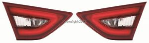 FITS NISSAN MAXIMA 2016-2018 INNER TAILLIGHTS TAIL LIGHTS REAR LAMP TRUNK PAIR