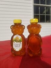 100 % Natural Raw Unfiltered Saw Palmetto Honey set of 2