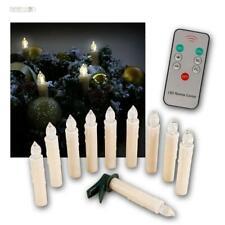 LED Christmas Lighting - Christmas Tree Candles, Wireless, 10/20/30/50er Set