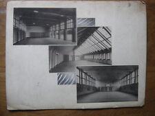 PUBLICITE PHOTOS salles de sport gymnase PREFECTURE DE LA SEINE