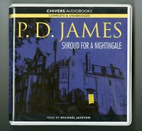 Shroud For A Nightingale: by P. D. James - Unabridged Audiobook - 8CDs