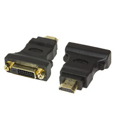 HDMI Male to DVI-D 24+1 Pin Female M-F Adapter Converter HDTV LCD (405-051-RH)