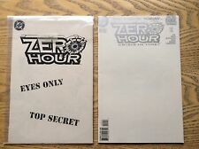 zero hour crisis in time #0 comic! look at my other comics!