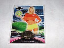2014 Benchwarmer CASSANDRA LYNN Soccer #90 Premium Gold Foil Variant/15 PLAYBOY