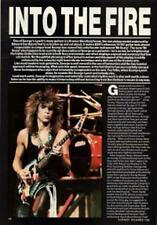 George Lynch UK 'Guitarist' Interview Clipping