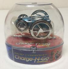 NIP MEGA TOYS Charge N Go Spinster Radio Controlled Car Big Wheels Ice Blue New