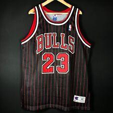 NEW Champion Authentic Air Jordan 48 XL Bulls NBA Trikot Basketball Jersey XI VI