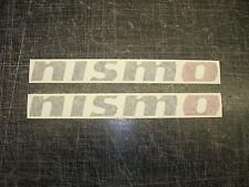 Nismo sticker decal x2 Skyline Supra Mr2 Subaru Drift JDM