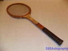 Rare Antique Vtg 1950s Jack Kramer Wilson Autograph Model Wooden Tennis Racquet