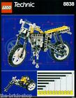 Notice Building instruction booklet LEGO TECHNIC 8838 Shock Cycle motorcycle