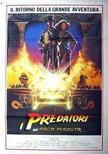 "Raiders of Lost Ark Original Giant Italian Movie Poster 40""x52"" Folded (MHPO)"