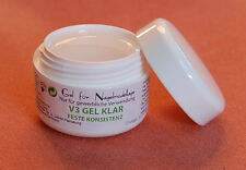 V3 Gel klar Fest 15 ml  Neue Generation
