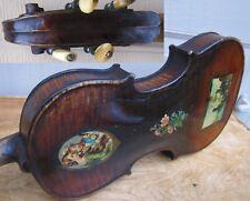 1892 Lyon & Healy Violin. Decalcomanie Italy Pics, Patent Head. Rare*!