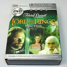 Trivial Pursuit - Lord Of The Rings - Trilogy Edition (DVDi, 2006)