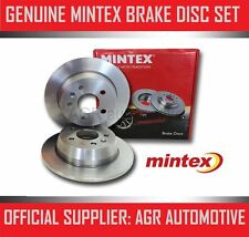 MINTEX REAR BRAKE DISCS MDC660 FOR MAZDA 323 1.8 TURBO 4WD 165 BHP 1990-94