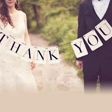 THANK YOU Wedding Banner Wedding Sign Photo Prop Wedding Party Decoration