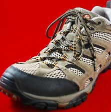 Merrill Moab Walnut Hiking Trail Ankle Boots Men's Size 13 M Vibram Continuum