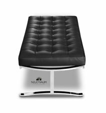 Leather Bench Bench Leather Black Quilted Italian Leather. Quality
