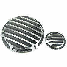 Contrast Cut Finned Derby Timing Timer Cover For Harley Sportster 883 1200 RSD