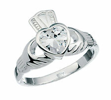 Heart Claddagh Costume Rings
