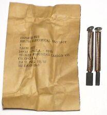 GN-45: jeu de charbon BT NOS NIB pour génératrice à main US GN-45B de 1952