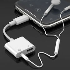 NEW iPhone Lightning 2-in-1 Charger / 3.5mm Audio Adapter For 7 8 X 11 Pro Max