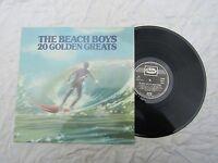 BEACH BOYS LP 20 GOLDEN GREATS capitol emtv 1 near mint / plays awesome!