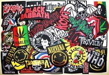 WHOLESALE Lot 50 Heavy Trash Punk Rock Band Music Shirt Embroidery Iron patch #3