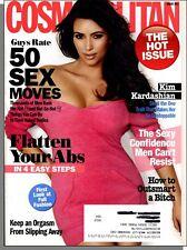 Cosmopolitan - 2011, August - The Hot Issue! Kim Kardashian, Flatten Your Abs