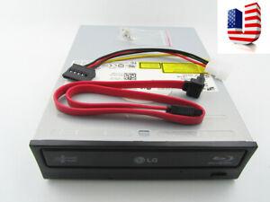 NEW LG/HL BH12LS35 12X SATA Blu-Ray burner DVDRW Internal Drive w/ 3D Player