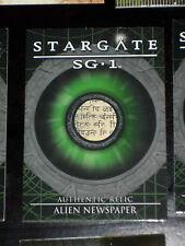 STARGATE SG.1 SEASON 7 RARE RELIC CARD R12 MEMENTO 116/407 CARTE COSTUME SG1