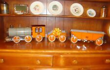 WOW!!! * Seldom Found * The Complete Set * Henry Katz Tin Toy Train * Ca 1929