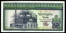EGYPT  - 20  POUNDS  1976   -  P 48  sign. 15  Uncirculated Banknotes