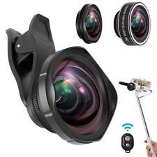 3 in 1 Lens Kit for Smartphone Fisheye + Macro + Wide Lens Fast Ship Japan EMS