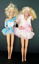 BARBIE DOLLS Lot of 2 American Beauty and Pretty Surprise 1991 Mattel USED