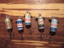 5 Different Hamm's & Hamm's Light Beer Promotional Spinning Fishing Lures