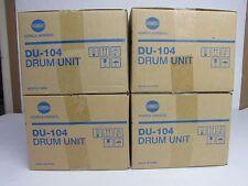 LOT OF  4 GENUINE KONICA MINOLTA BIZHUB PRESS C6000 C7000 DRUM UNIT DU104