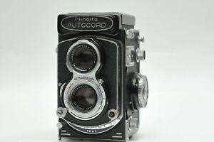 Minolta AUTOCORD Rokkor 75mm f/3.5 TLR MEDIUM FORMAT FILM CAMERA 120 Film