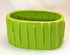 Green Lime Ceramic Flower Vase Clay Home Decor Vase Pot