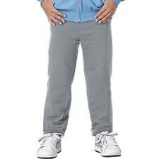 Hanes P450 Youth Comfortblend Ecosmart Fleece Pant, Light Steel - Large