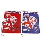 2pcs London ID Visa Card Case Passport Holder Protect Cover For Travel Journey