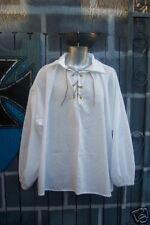 Mens Renaissance Colonial Pirate Poet Peasant Shirt, Size XL