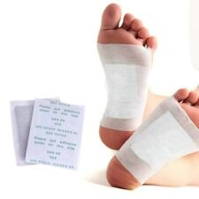 10x Fußpflaster Detox Patches Pflaster Entgiftung  Fuß Pads Fusspflaster Bambus