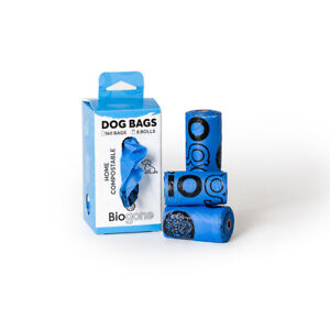 Dog Poo Bags HOME COMPOSTABLE Portable Refill Rolls | 80 or 160 Dog Waste Bags