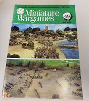 Miniature Wargames Number 48, May 1987 oop SC