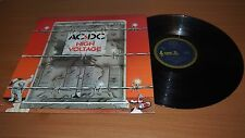 AC/DC High Voltage 1975 Aussie 1st Press LP Vinyl Blue Roo Broonzy OOP EX/VG