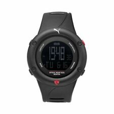 Puma Watch Mens Wrist Watch Optical Cardiac Black Digital PU911291001