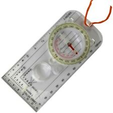 MILITARY MAP MOUNTAIN COMPASS DEGREES RULER ORIENTEERING BRITISH ARMY SURVIVAL